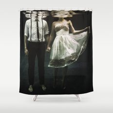 abyss of the disheartened : IV Shower Curtain