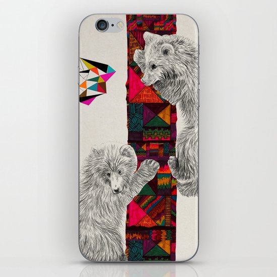 The Innocent Wilderness by Peter Striffolino and Kris Tate iPhone & iPod Skin