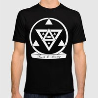 Truth and Beauty Mens Fitted Tee Black SMALL