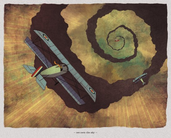 World At War - 'We Own The Sky' Art Print