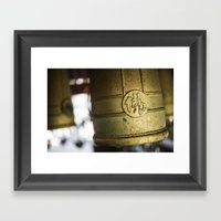 Ceremonial Bells, Japan  Framed Art Print