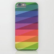Fig. 040 Rainbow Stripes iPhone 6 Slim Case