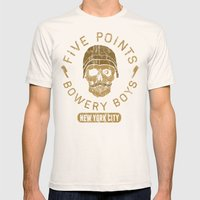 Bad Boy Club: Five Point… Mens Fitted Tee Natural SMALL