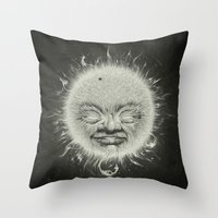 Sirious A Throw Pillow