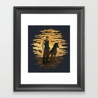 Riddick And Escape Artis… Framed Art Print
