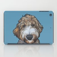 Seamus the Labradoodle iPad Case