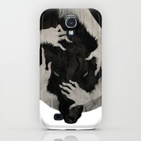Galaxy S4 Cases featuring Wild Dog by Corinne Reid