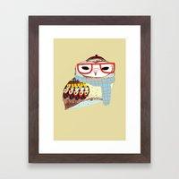 Snug Owl Framed Art Print