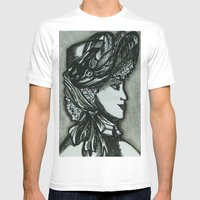 Victorian II Mens Fitted Tee White SMALL