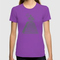 I See ALL Womens Fitted Tee Ultraviolet SMALL