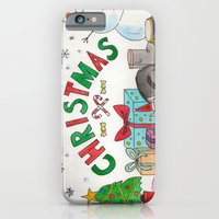 iPhone & iPod Case featuring Christmas Card! by Keyana Miyana