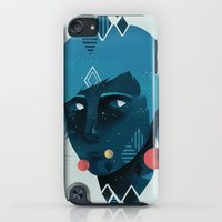 iPod Touch Cases featuring Mind/Space by Reno Nogaj