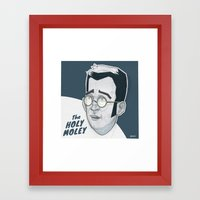 The Holymoley Framed Art Print