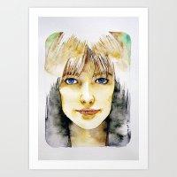 Francoise Hardy Art Print