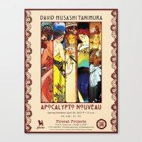 Apocalypto Nouveau Show Canvas Print