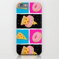 Pizza & Donut iPhone 6 Slim Case