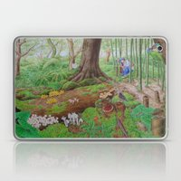 A Day Of Forest (5). (de… Laptop & iPad Skin