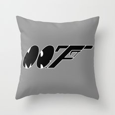 Mr. F (b) Throw Pillow