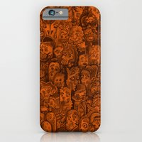 iPhone Cases featuring MonsterMonster Lamp Mash Up  by MonsterMonster
