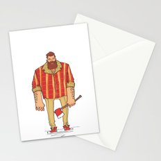 The Woodchop Stationery Cards