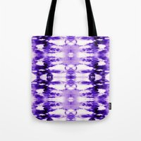 Tie Dye Purples Tote Bag