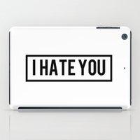 Hate iPad Case
