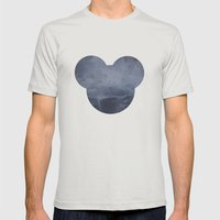 MO Mens Fitted Tee Silver SMALL