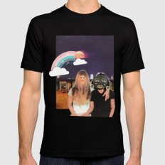 Friendship Mens Fitted Tee Black SMALL