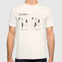 The Distrac-a-Attack Mens Fitted Tee Natural SMALL