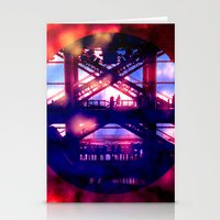 Escalator In The Sky Stationery Cards