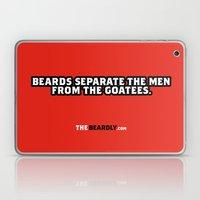BEARDS SEPARATE THE MEN … Laptop & iPad Skin