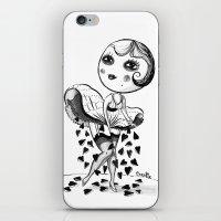 HEART RAIN iPhone & iPod Skin