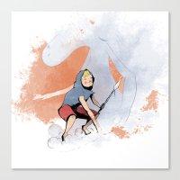 henon adventure Canvas Print