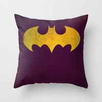 Batgirl Throw Pillow