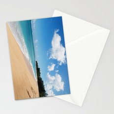 Tunnels beach Stationery Cards