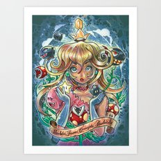 absolute power corrupts absolutely Art Print