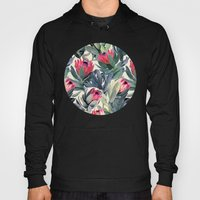 Painted Protea Pattern Hoody