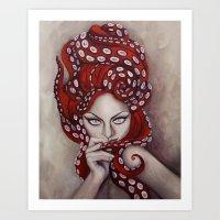 Octavia Art Print