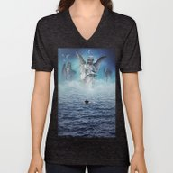 Unisex V-Neck featuring Path Of Redemption by Seamless
