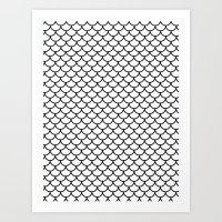 Simple Scales Art Print
