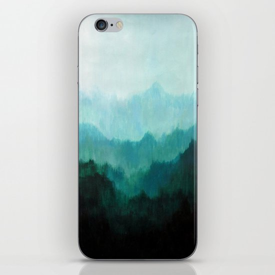 Mists No. 2 iPhone & iPod Skin