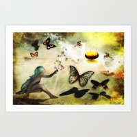 Celebration  of Life Art Print