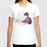 Lady Jane Womens Fitted Tee White SMALL