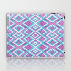 Aqua Berry Ikat Laptop & iPad Skin