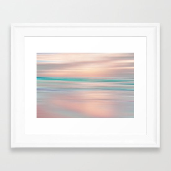 SUNRISE TONES Framed Art Print