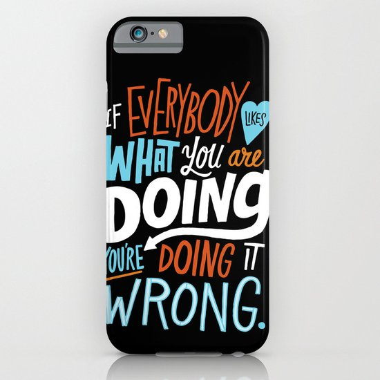 Doing it Wrong iPhone & iPod Case