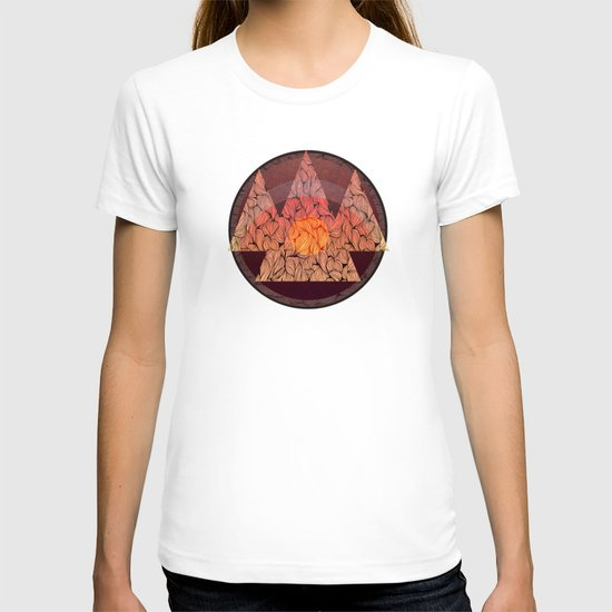 Sunset in the mountains T-shirt