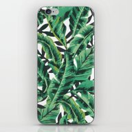iPhone & iPod Skin featuring Tropical Glam Banana Lea… by Nikki