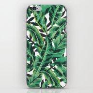 Tropical Glam Banana Lea… iPhone & iPod Skin
