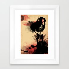 if you loved me.. Framed Art Print